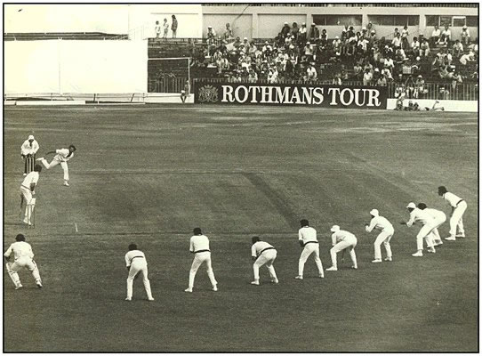 Lillee With Nine Slips